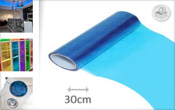 Blauw tint keukenfolie