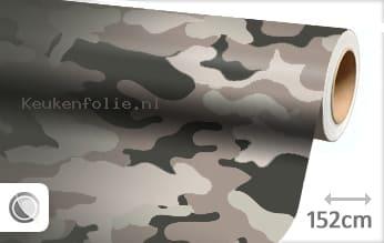 Camouflage keukenfolie
