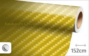 Geel 2D carbon keukenfolie
