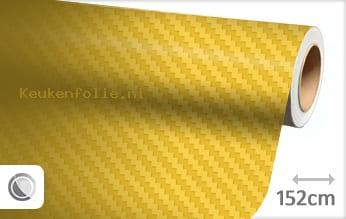 Geel 3D carbon keukenfolie