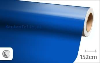 Glans blauw keukenfolie