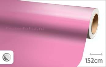 Glans roze keukenfolie