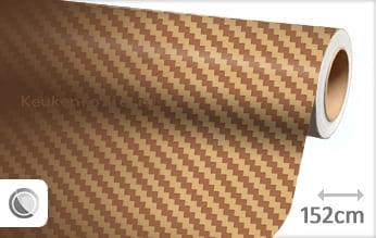 Goud 3D carbon keukenfolie