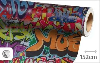Graffiti keukenfolie