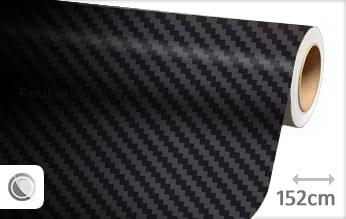 Zwart 3D carbon keukenfolie